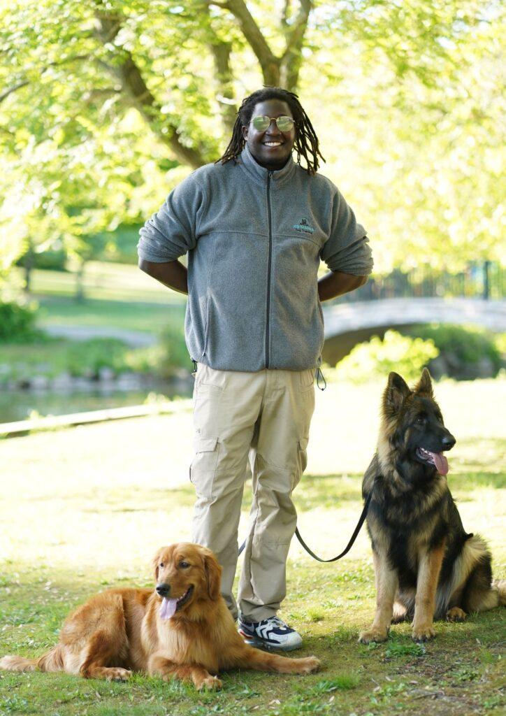 Jordan Hayes Queens Dog Trainer K9 Mania Dog Training